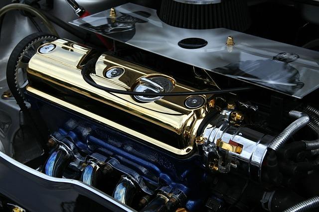Laděný blok motoru