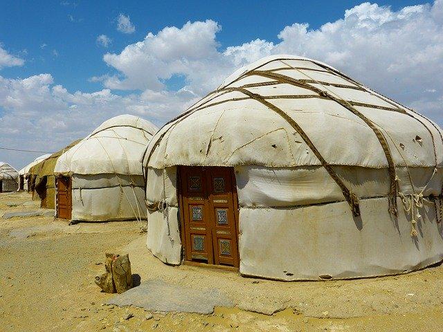 Mongolské jurty